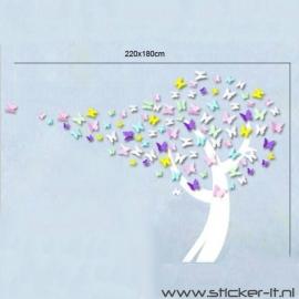 3D Vlinderboom