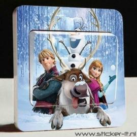 Lichtschakelaar sticker Frozen 8