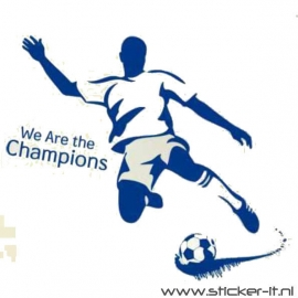 Voetballer champions