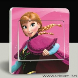 Lichtschakelaar sticker Frozen 4