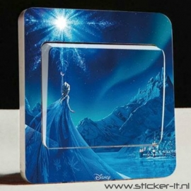 Lichtschakelaar sticker Frozen 12