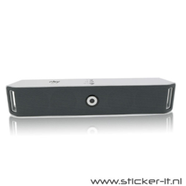 NBY Bluetooth speaker BT14 zilver