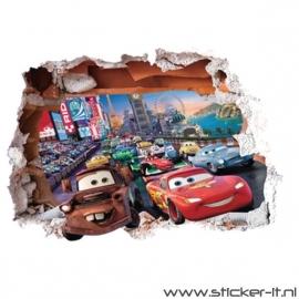 CD035 Cars uitgebroken muur 2