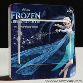 Lichtschakelaar sticker Frozen 3