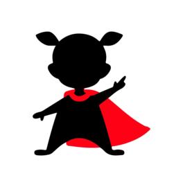 SH003 Superheld girl