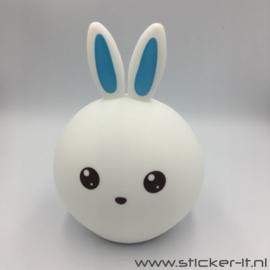 3D jongens konijn nachtlampje