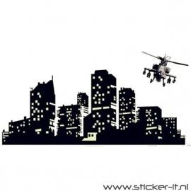 GD008 Skyline + helikopter