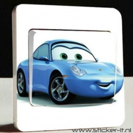 Lichtschakelaar sticker Cars 5