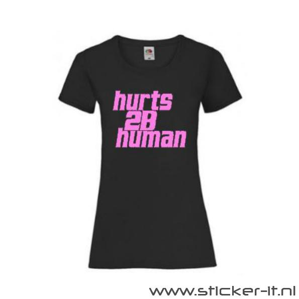 Hurts 2B Human - Pink