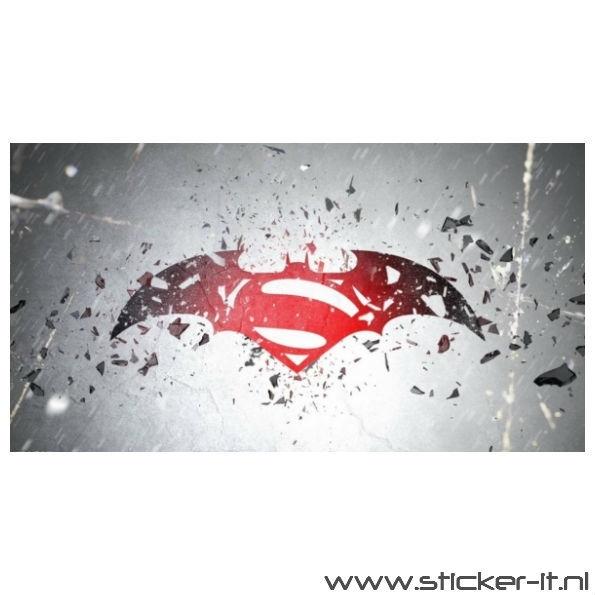 Poster Sticker Batman vs. Superman