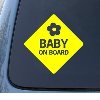 AB002 Autosticker baby on board 2