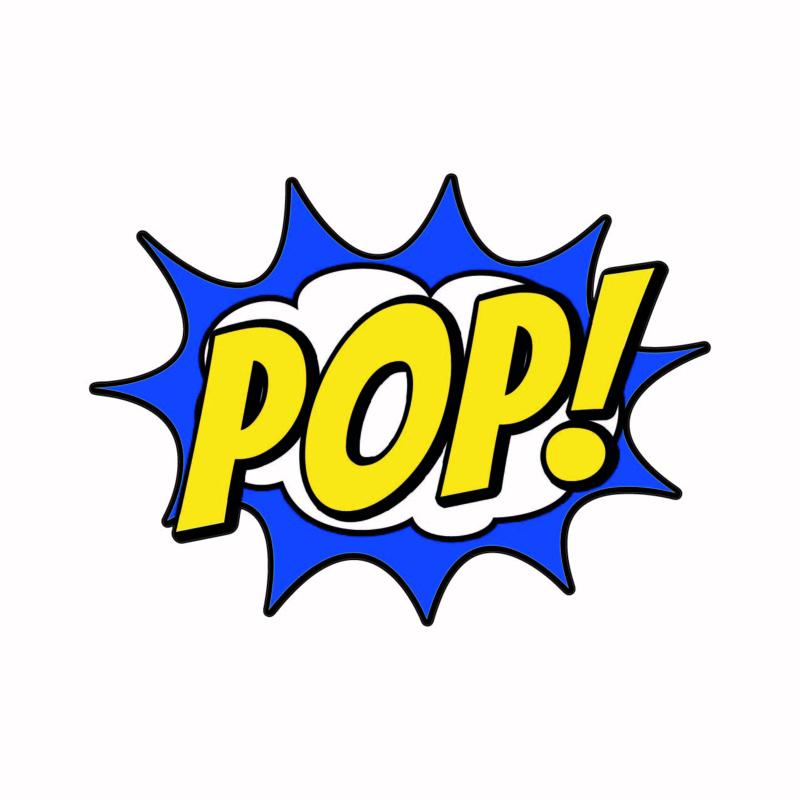 SH009 Superhelden tekst POP!