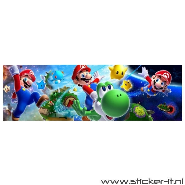 Poster Sticker Mario Bros 2
