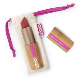ZAO Bamboo Matt lipstick 465 donker rood