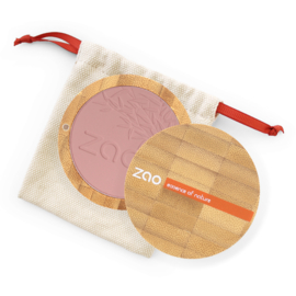 ZAO Bamboo Compact blush 323 (Dark Purple)