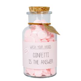Handzeep - Confetti is the answer - Geur: green tea time