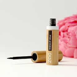 ZAO Bamboo Eyeliner brush tip 070 Black intense