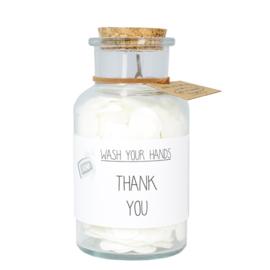 Handzeep - Thank you - Geur: Fresh cotton