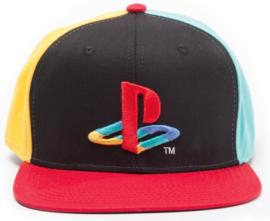 PlayStation Original Logo Colors Cap