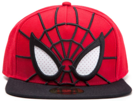 Spider-man 3D Snapback with Mesh Eyes Cap