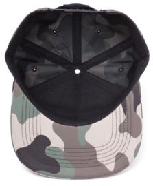 Zelda Camouflage 3D Embroidery Snapback Cap