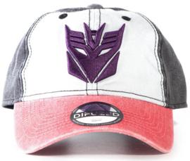 Transformers Decepticons Adjustable Cap