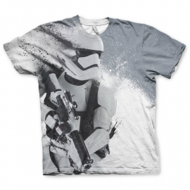 Star Wars T-shirt First Order Stormtrooper Heren (sublimatieprint)