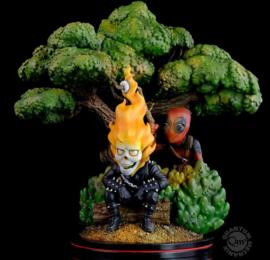 PRE-ORDER: Deadpool x Ghost Rider Q-Master Diorama