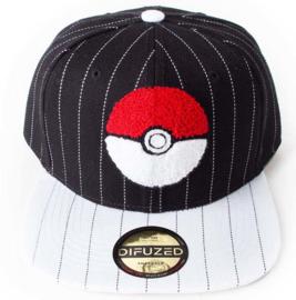 Pokemon Pokeball Varsity Snapback Cap
