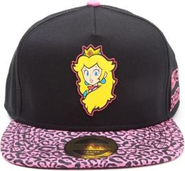 Nintendo Princess Peach Rubber Patch Snapback Cap