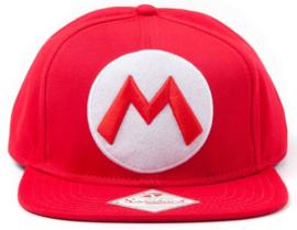 Nintendo Mario Logo Snapback Cap