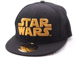 Star Wars Gold Logo Cap