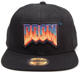 DOOM Logo Snapback Cap