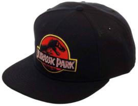 Jurassic Park Logo Black Snapback Cap