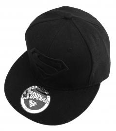 Superman Black logo Cap