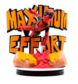 Q-Fig Figure Marvel Deadpool Maximum Effort 14 cm