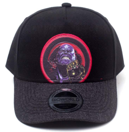 Marvel Thanos Curved Bill Cap