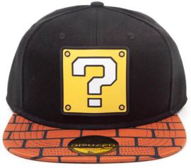 Nintendo Super Mario Brick Snapback Cap