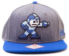 Megaman Pixel Snapback Cap