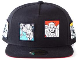 Marvel Comics Retro Snapback Cap