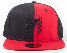 Spider-Man Emboidery Logo Snapback Cap