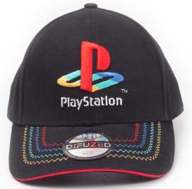 Playstation Retro Logo Adjustable Cap