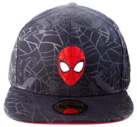 Spider-Man Head Snapback Cap