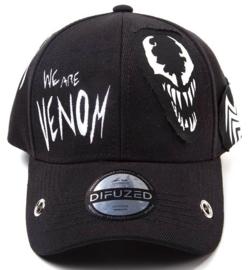 Venom Grunge Cap With Patches