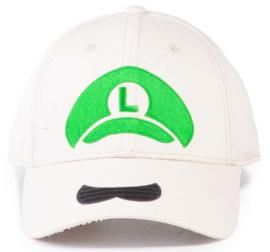 Nintendo Super Mario Luigi Icon Adjustable Cap