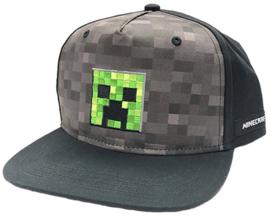 Minecraft Creeper Inside  SnapBack Cap