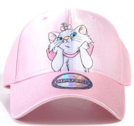 Disney Marie Satin Nylon Curved Bill Cap