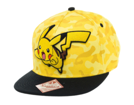 Pokémon Pikachu Camo Cap