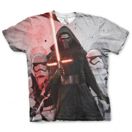 Star Wars T-Shirt Kylo Ren Heren (sublimatieprint)