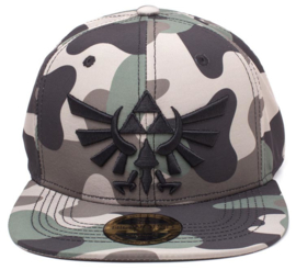 Zelda Camouflage 3D Embroidery Snapback Cap